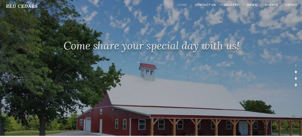 Red Cedars Event Barn